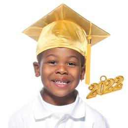 Kids Grad Cap and Tassel Set - Shiny