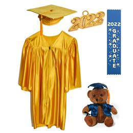 2020 Kids Graduation Set with Ribbon