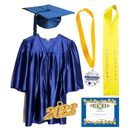 Preschool Graduation Award Set - Shiny