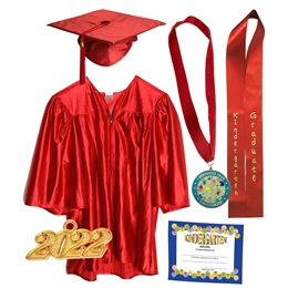 Kindergarten Graduation Award Set - Shiny