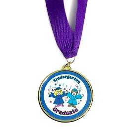 Kindergarten Graduate Medallion - Kids