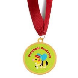 Preschool Graduate Medallion - Bee
