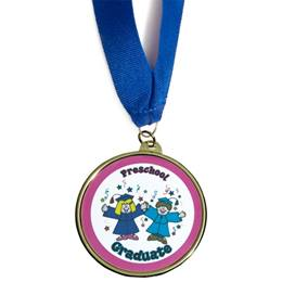 Preschool Graduate Medallion - Kids