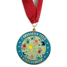 I Graduated From Kindergarten Medallion